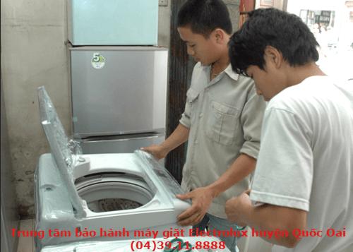 bảo hành máy giặt electrolux tại quốc oai