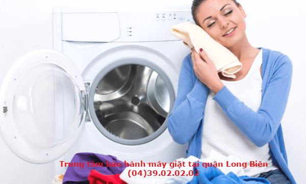 bảo hành máy giặt long biên
