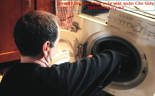 bảo hành máy giặt tại cầu giấy