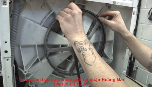 bảo hành máy giặt tại quận hoàng mai