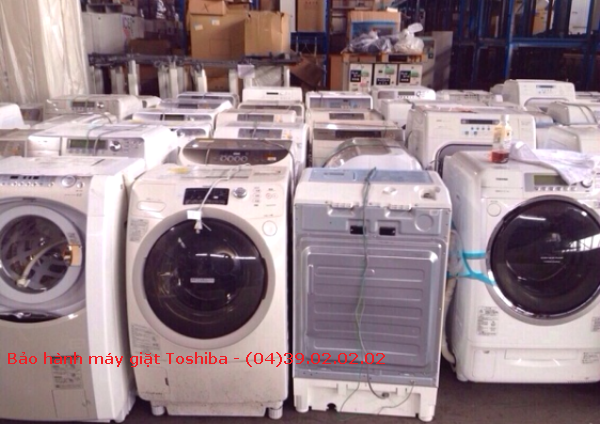 bảo hành máy giặt toshiba