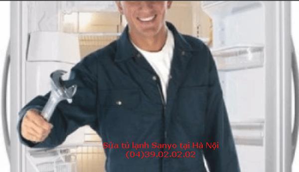 sửa chữa tủ lạnh sanyo tại hà nội