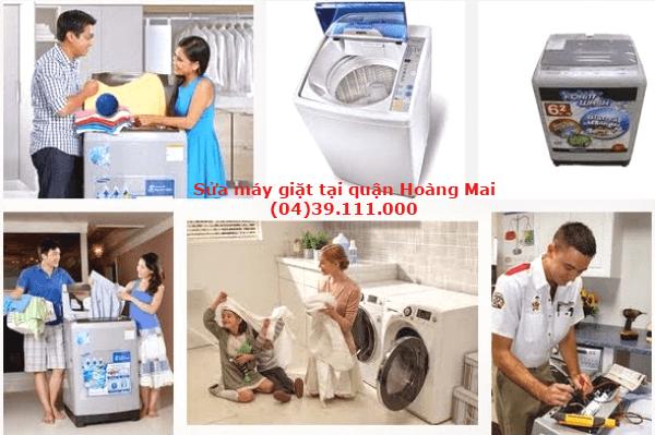 sửa máy giặt quận hoàng mai