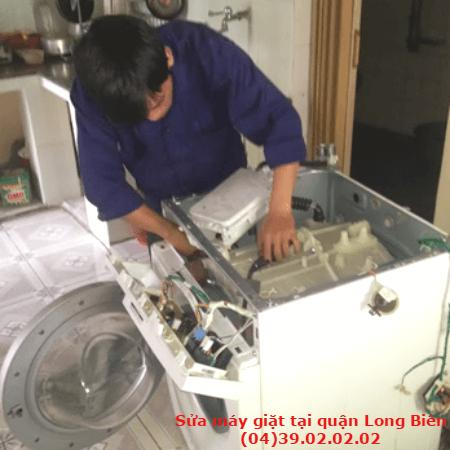 sửa máy giặt tại quận long biên