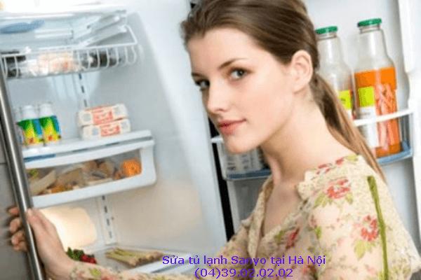 sửa tủ lạnh sanyo tại nhà