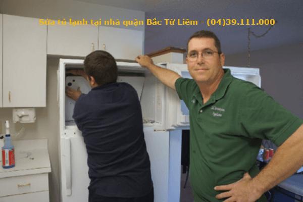 sửa tủ lạnh tại nhà quận bắc từ liêm