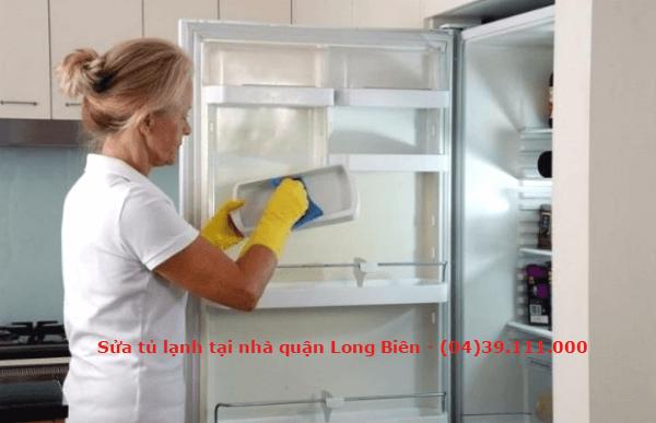 sửa tủ lạnh tại nhà quận long biên