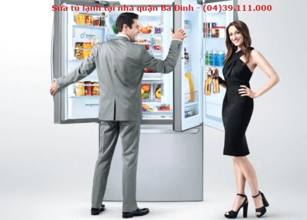 sửa tủ lạnh tại quận ba đình