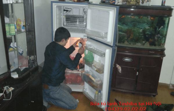 sửa tủ lạnh toshiba tại nhà