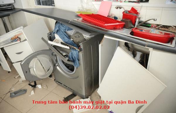 trung tâm bảo hành máy giặt tại quận ba đình