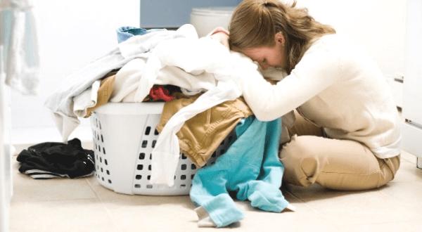 lý do không được để quá tải khi giặt