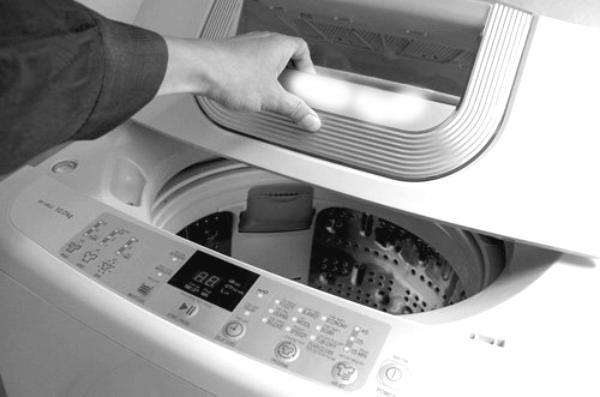 nước chảy vào máy giặt chậm