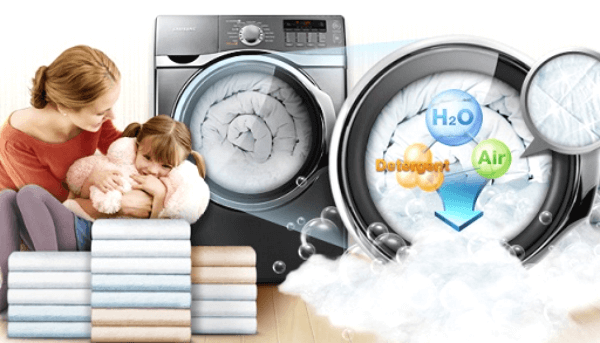 sai lầm sử dụng bột giặt với máy giặt