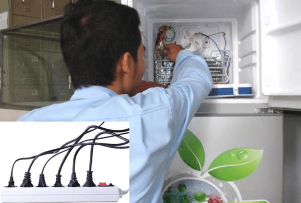 tủ lạnh chạy liên tục do đâu
