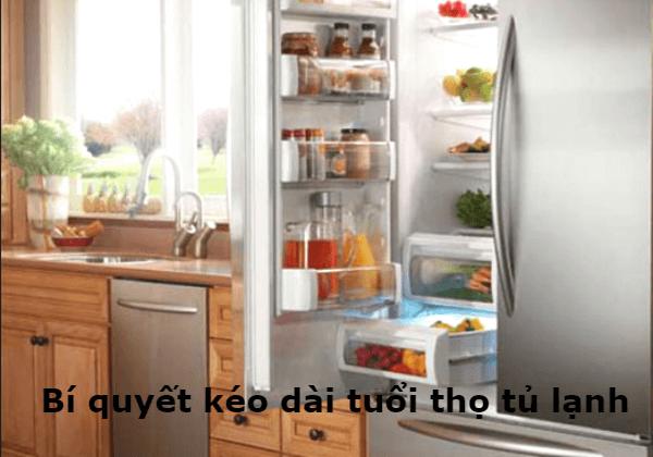 Bí quyết kéo dài tuổi thọ cho tủ lạnh