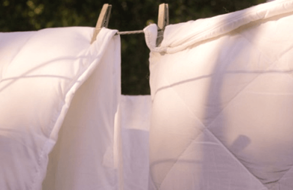 giặt ga trải giường bằng máy giặt đảm bảo