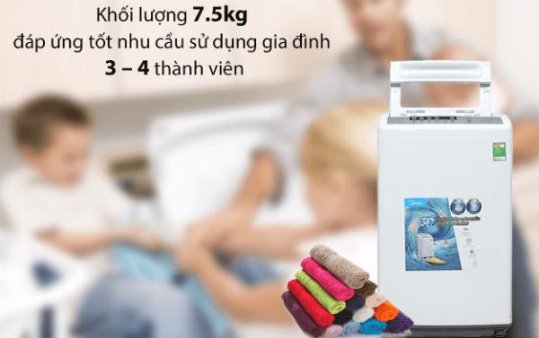 máy giặt cho gia đình có 4 người