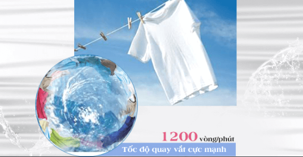 ưu điểm của dòng máy giặt cửa ngang