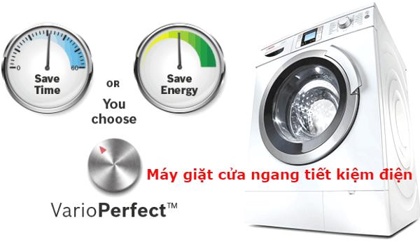 ưu điểm máy giặt cửa ngang