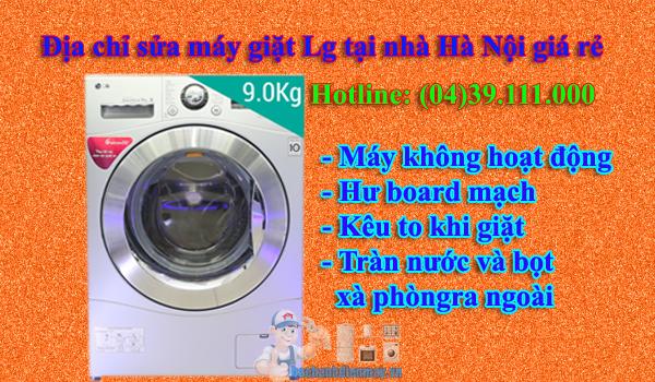 Địa chỉ sửa máy giặt Lg tại Hà Nội