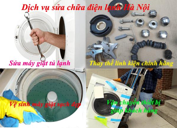 Dịch vụ sửa chữa điện lạnh Hà Nội
