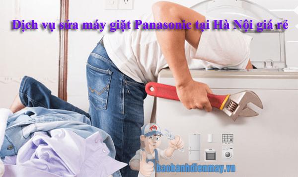 Dịch vụ sửa máy giặt Panasonic tại Hà Nội giá rẻ