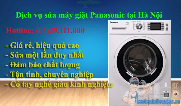 Dịch vụ sửa máy giặt Panasonic tại Hà Nội