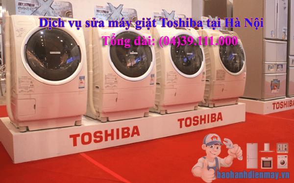 Dịch vụ sửa máy giặt Toshiba tại Hà Nội