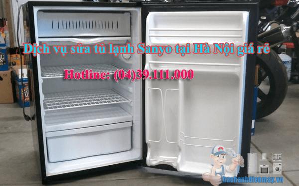 Dịch vụ sửa tủ lạnh Sanyo tại Hà Nội