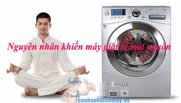 Máy giặt bị mất nguồn vì nguyên nhân gì