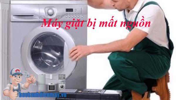 Máy giặt bị mất nguồn