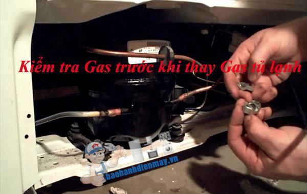 Thay gas tủ lạnh hết bao nhiêu tiền