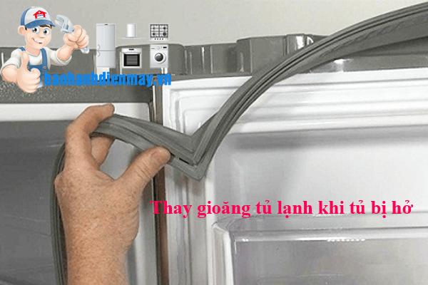 Tủ lạnh không đóng kín được cửa