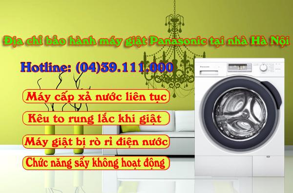 Địa chỉ bảo hành máy giặt Panasonic tại Hà Nội