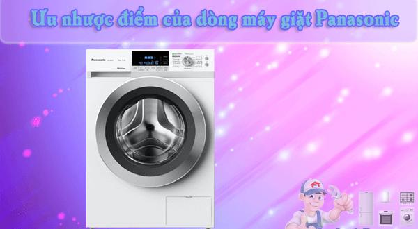 Ưu nhược điểm của máy giặt Panasonic