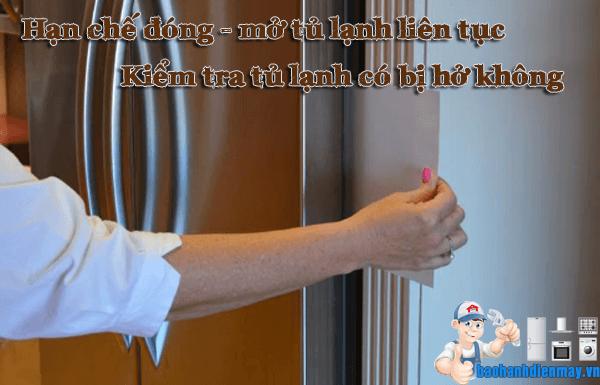 Cách tiết kiệm điện tủ lạnh