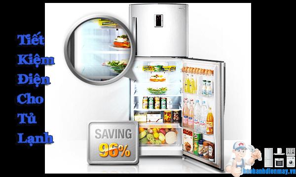 Tiết kiệm điện cho tủ lạnh