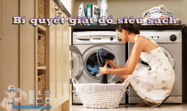 Bí quyết giặt đồ siêu sạch