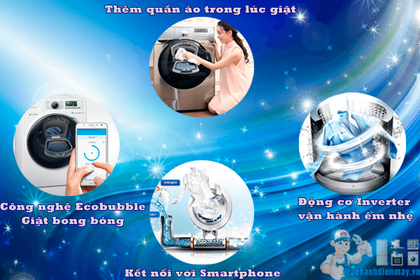 Công nghệ vượt trội của siêu máy giặt AddWash