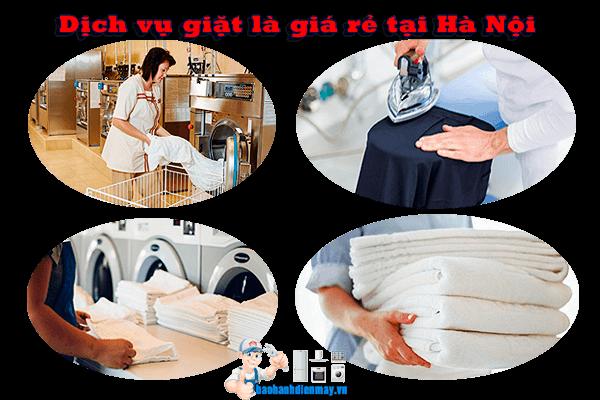 Dịch vụ giặt là giá rẻ tại Hà Nội