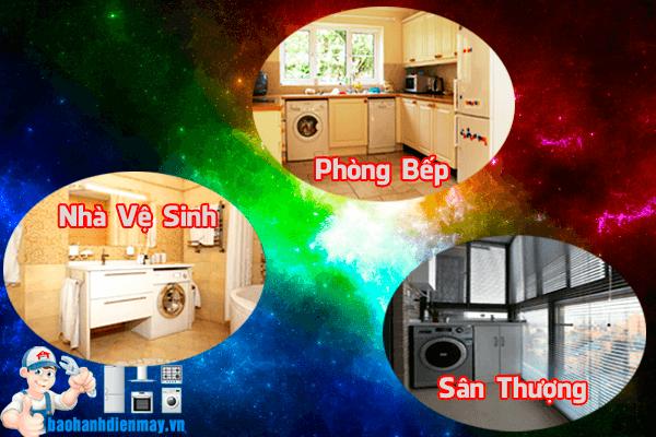 Phong thủy máy giặt nhà ở