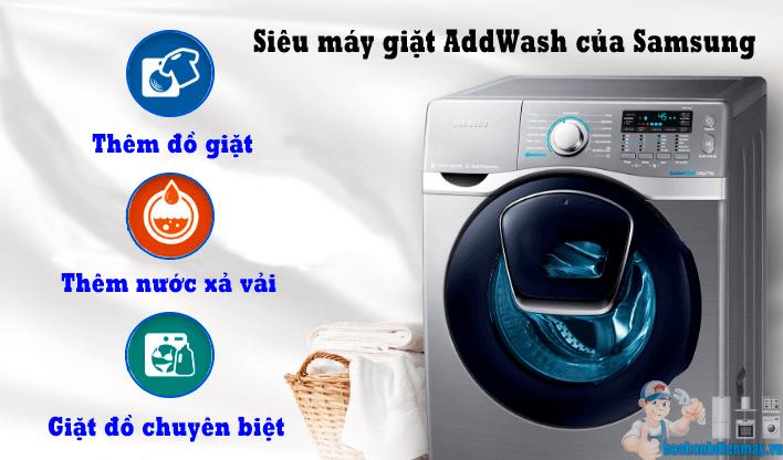 Siêu máy giặt AddWash của Samsung